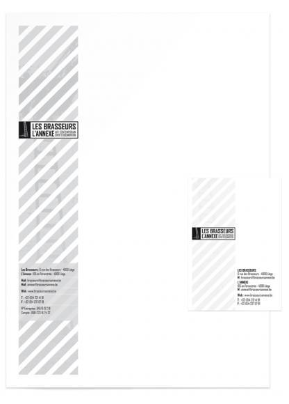 BrasseursAnnexe Papier à Lettres